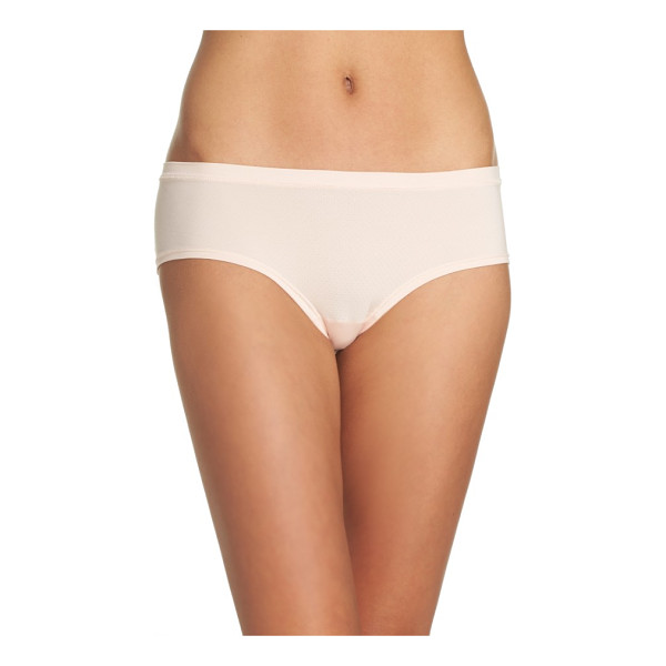 ZELLA zella active mesh hipster briefs - Soft, breathable mesh forms comfortable full-coverage...