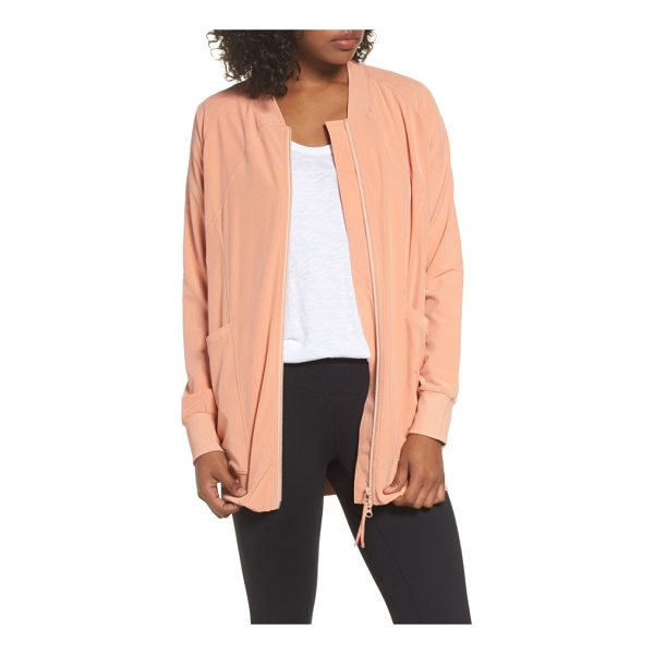 ZELLA long bomber jacket - Ideal for wearing to the studio and after-workout-errands,...