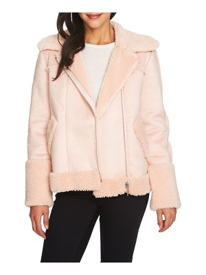 1.STATE Faux Shearling Moto Jacket