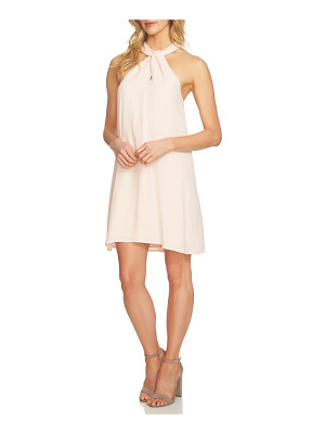 1.STATE Halter Shift Dress