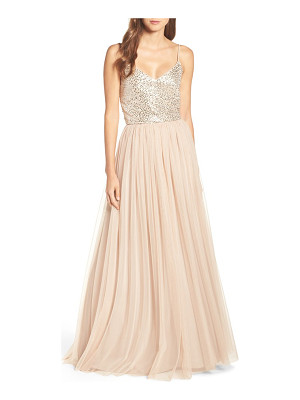 Adrianna Papell embellished two piece gown