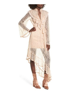 AFRM Ray Asymmetrical Lace Dress