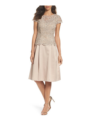 Alex Evenings lace tea-length dress