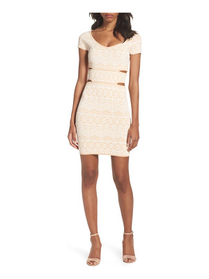 ALI & JAY Botanical Seduction Cutout Dress