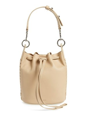 ALLSAINTS Small Ray Leather Bucket Bag