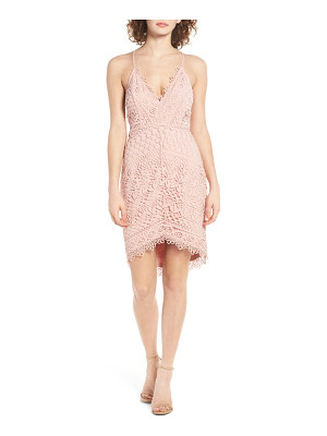 ASTR lace body-con dress