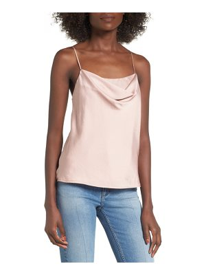 ASTR THE LABEL Cowl Neck Tank