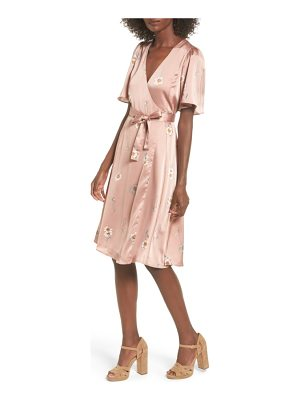 ASTR the Label fiona wrap dress