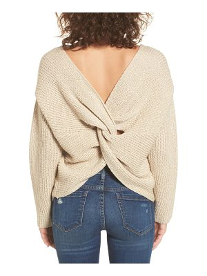 ASTR the Label twist back sweater