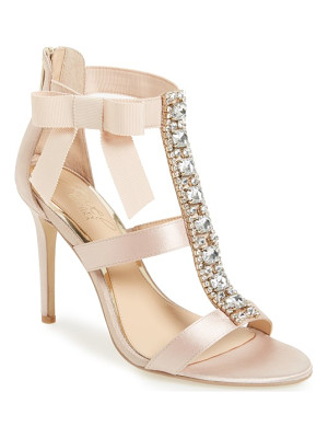 JEWEL BADGLEY MISCHKA henderson embellished bow sandal