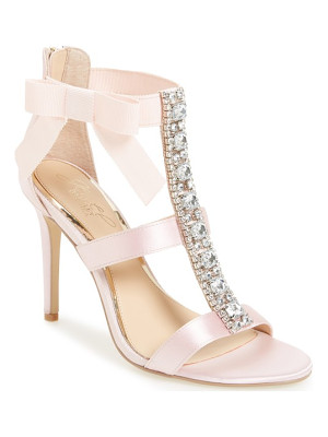 Badgley Mischka henderson embellished bow sandal