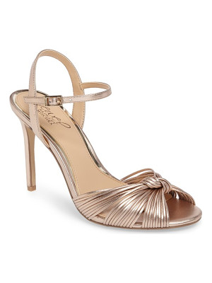 BADGLEY MISCHKA Lady Ankle Strap Sandal