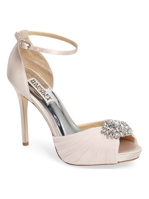 BADGLEY MISCHKA Tad Ankle Strap Pump