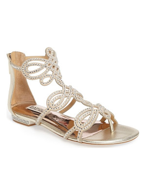 BADGLEY MISCHKA Tempe Embellished Sandal