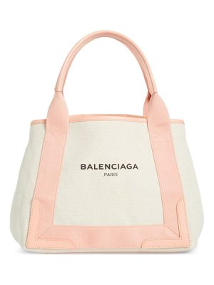 Balenciaga small cabas canvas tote