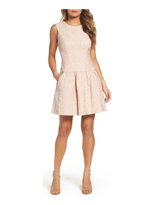 BCBGMAXAZRIA ashlie fit & flare dress