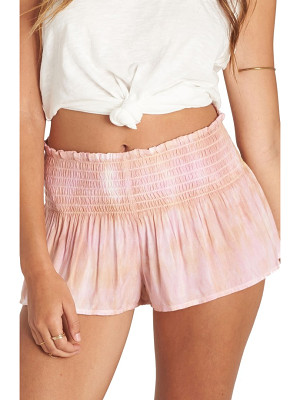 Billabong breezy day tie dye shorts