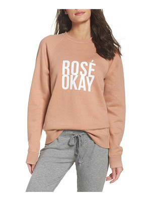 BRUNETTE THE LABEL Rose Okay Sweatshirt