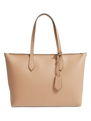 BURBERRY Calfskin Leather Tote