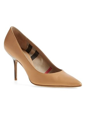 BURBERRY 'Mawdesley' Pointy Toe Pump