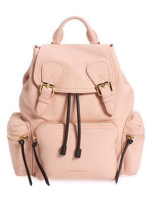 BURBERRY Medium Rucksack Deerskin Backpack