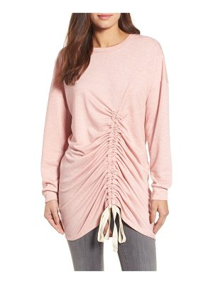 CaslonR caslon ruched front tunic