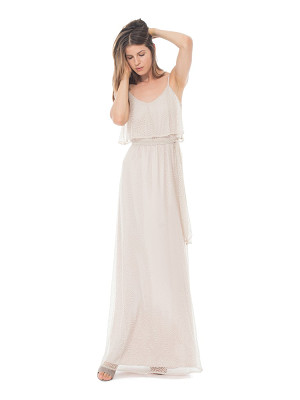 Ceremony by Joanna August 'dani' popover bodice lace maxi dress