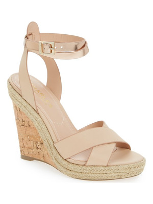 CHARLES BY CHARLES DAVID Brit Wedge Platform Sandal