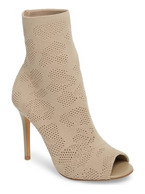 CHARLES BY CHARLES DAVID Ranger Sock Knit Open Toe Bootie