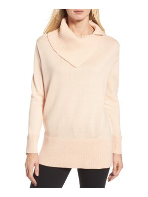 CHAUS Cowl Neck Sweater