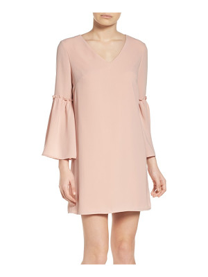 Chelsea28 ruffle bell sleeve dress