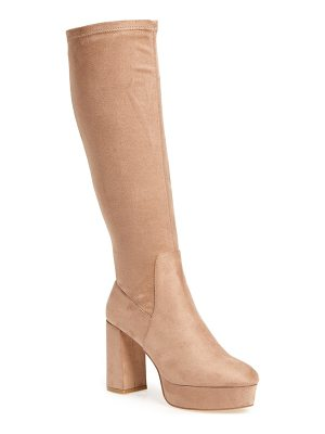 Chinese Laundry nancy knee high platform boot
