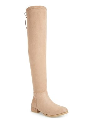 Chinese Laundry rashelle over the knee stretch boot