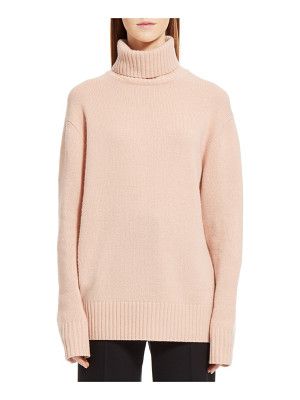 Chloe colorblock cashmere turtleneck sweater