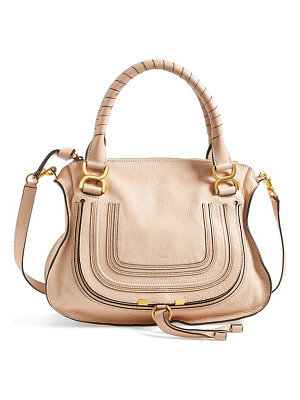 Chloe 'medium marcie' leather satchel