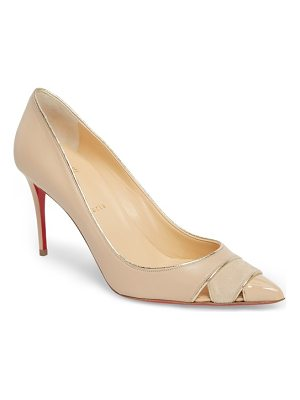 CHRISTIAN LOUBOUTIN Biblio Cutout Pointy Toe Pump