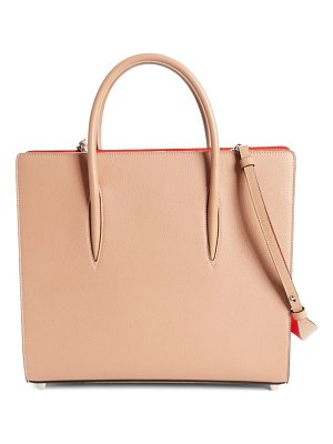 Christian Louboutin large paloma leather tote