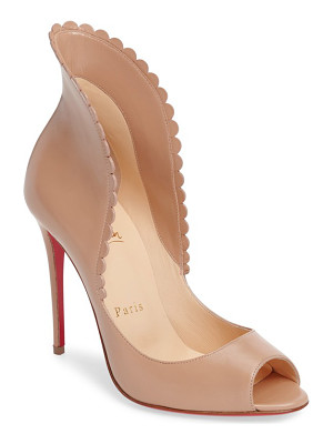Christian Louboutin pijonina flared collar pump