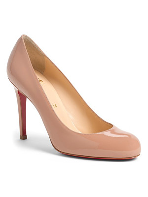 Christian Louboutin 'simple' single sole pump