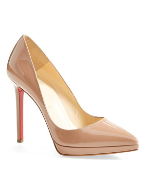 Christian Louboutin 'pigalle plato' pointy toe pump