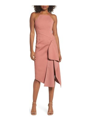 C/Meo Collective fluidity draped midi dress