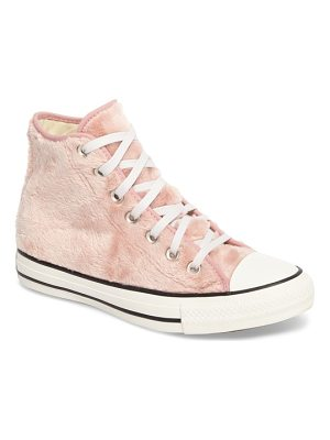 CONVERSE Chuck Taylor All Star Faux Fur High Top Sneakers