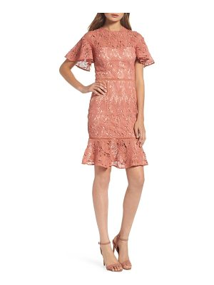 COOPER ST Monaco Flounce Hem Dress
