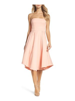 COOPER ST Shuvee Strapless Fit & Flare Dress