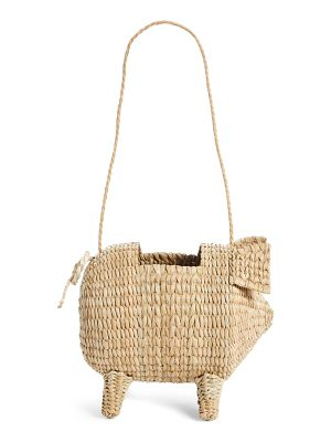 Cult Gaia the babe straw bag