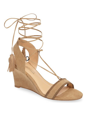 DAYA By Zen Mesa Ankle Wrap Wedge Sandal