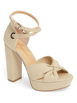 DAYA By Zen Mission Ankle Wrap Platform Pump