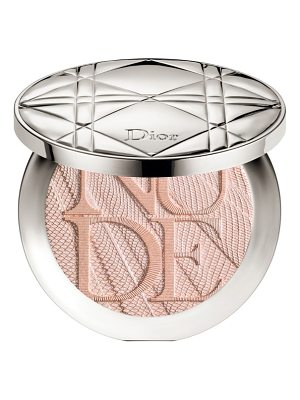 Dior skin nude air luminizer glow addict holographic sculpting powder