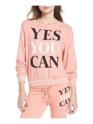 DREAM SCENE Yes You Can Sweatshirt