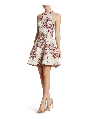 DRESS THE POPULATION Hannah Fit & Flare Dress